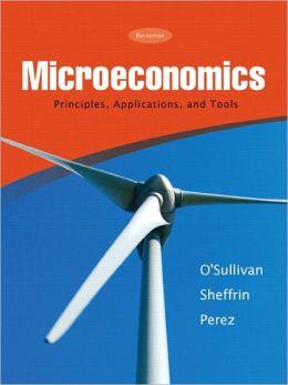 Microeconomics Principles, Applications & Tools & MyEconLab Student Access Code Card
