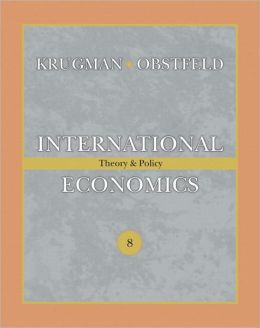 International Economics: Theory and Policy & MyEconLab Student Access Code Card