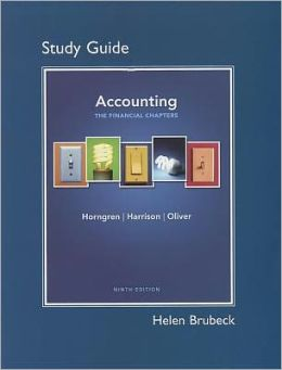 Study Guide for Accounting, Chapters 1-15 (Financial chapters)