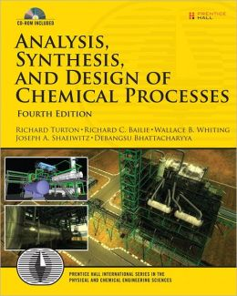 Analysis, Synthesis and Design of Chemical Processes