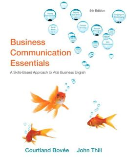 Business Communication Essentials Plus New MyBCommLab with Pearson eText