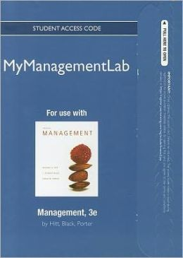 MyManagementLab -- Access Card -- for Management