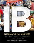 Book Cover Image. Title: International Business, Author: John Daniels
