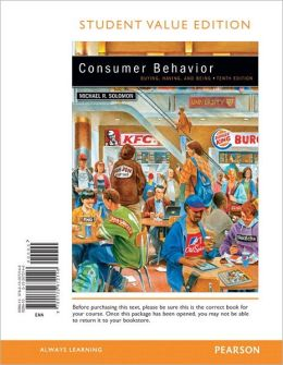 Consumer Behavior, Student Value Edition