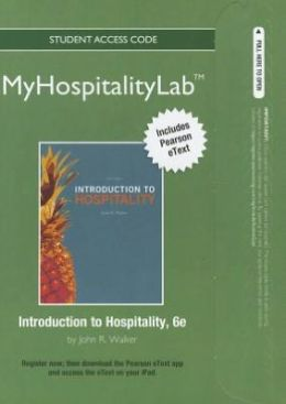 2012 MyHospitalityLab with Pearson eText -- Access Card -- for Introduction to Hospitality