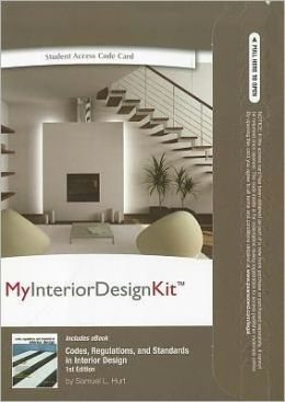 MyInteriorDesignKit -- Access Card -- for Codes, Regulations, and Standards in Interior Design