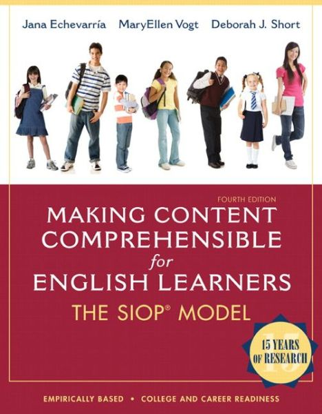 Making Content Comprehensible for English Learners: The SIOP Model