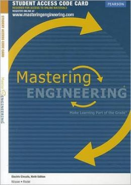 MasteringEngineering -- Access Card --for Electric Circuits