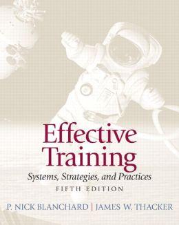 Effective Training