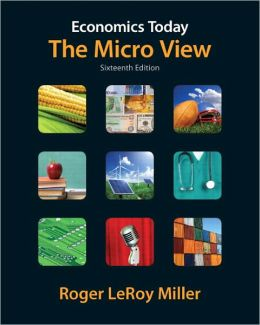 Economics Today: The Micro View plus MyEconLab with Pearson Etext Student Access Code Card Package