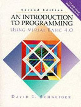 An Introduction to Programming Using Visual Basic 4.0