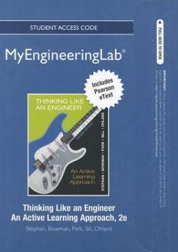 NEW MyEngineeringLab with Pearson eText -- Access Card -- for Thinking Like an Engineer: An Active Learning Approach