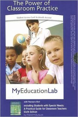 MyEducationLab Pegasus with Pearson eText -- Standalone Access Card -- for Including Students with Special Needs: A Practical Guide for Classroom Teachers