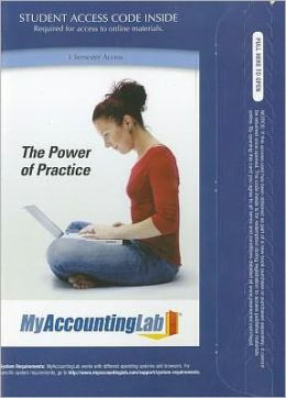 myAccountingLab with Pearson eText -- Access Card -- for Management Accounting