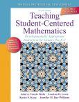 Book Cover Image. Title: Teaching Student-Centered Mathematics:  Developmentally Appropriate Instruction for Grades Pre K-2 (Volume I), Author: John A. Van de Walle