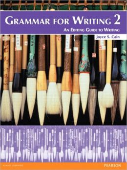 Grammar for Writing 2 (Student Book with Proofwriter)