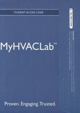 NEW MyHVACLab -- Access Card -- for Fundamentals of HVAC/R