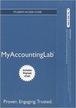 NEW MyAccountingLab with Pearson eText -- Access Card -- for Prentice Hall's Federal Taxation 2012 Corporations, Partnerships, Estates & Trusts