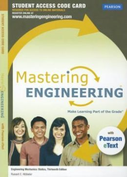 MasteringEngineering with Pearson eText -- Standalone Access Card -- for Engineering Mechanics: Statics