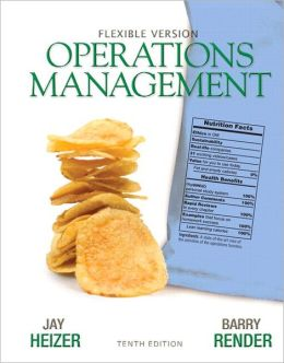 Operations Management Flexible Version Plus Lecture Guide and Activities Manual Plus NEW MyOMLab with Pearson eText