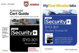CompTIA Security+ SYO-301 Cert Guide with MyITCertificationlab Bundle