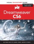 Book Cover Image. Title: Dreamweaver CS6:  Visual QuickStart Guide, Author: Tom Negrino