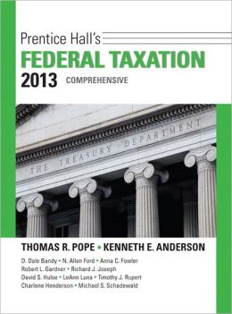 Prentice Hall's Federal Taxation 2013 Comprehensive Plus NEW MyAccountingLab with Pearson eText