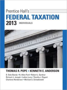 Prentice Hall's Federal Taxation 2013 Individuals Plus NEW MyAccountingLab with Pearson eText -- Access Card Package