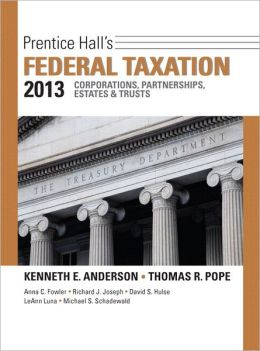 Prentice Hall's Federal Taxation 2013 Corporations, Partnerships, Estates &Trusts Plus NEW MyAccountingLab with Pearson eText -- Access Card Package