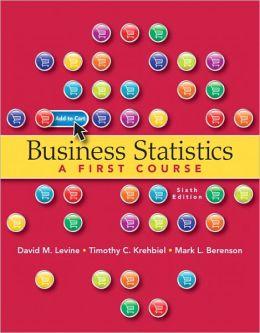 Business Statistics, 6/e