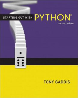 Starting Out with Python plus MyProgrammingLab with Pearson eText -- Access Card
