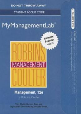NEW MyManagementLab with Pearson eText -- Access Card -- for Management