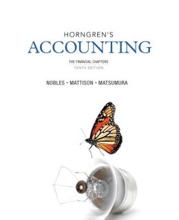 Horngren's Accounting, The Financial Chapters and NEW MyAccountingLab with eText -- Access Card Package