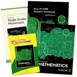 Prentice Hall Mathematics - Course 2 Homeschool Bundle