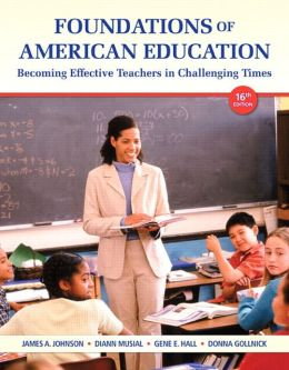 Foundations of American Education Video-Enhanced Pearson eText -- Access Card
