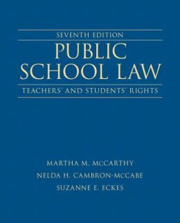 Public School Law: Teachers' and Students' Rights Plus NEW MyEdLeadershipLab with Pearson eText -- Access Card