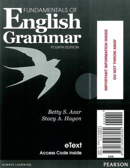 Fundamentals of English Grammar eTEXT with Audio; without