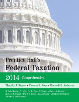 Prentice Hall's Federal Taxation 2014 Comprehensive