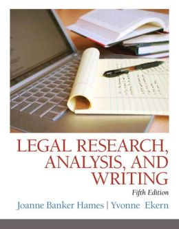 Legal Research and Writing for Paralegals, Fifth Edition / Edition 5 ...