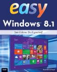 Book Cover Image. Title: Easy Windows 8.1, Author: Mark Edward Soper
