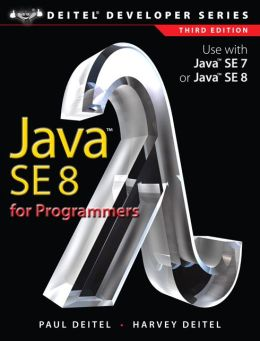 Java SE8 for Programmers