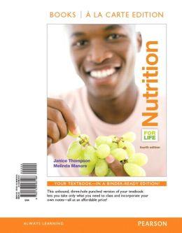 Nutrition for Life, Books a la Carte Edition