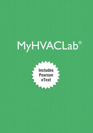 MyHVACLab with Pearson eText -- Access Card -- for Fundamentals of HVACR