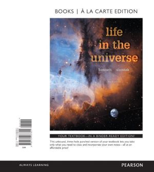 Life in the Universe, Books a la Carte Edition