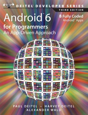 Android 6 for Programmers: An App-Driven Approach