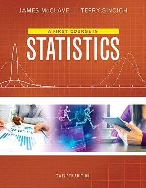 A First Course in Statistics Plus MyStatLab with Pearson eText -- Access Card Package
