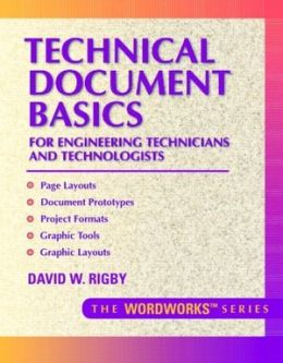 Technical Document Basics for Engineering Technicians and Technologists