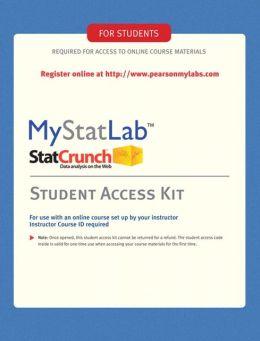 MyMathLab/MyStatLab Student Access Code Card (Standalone)