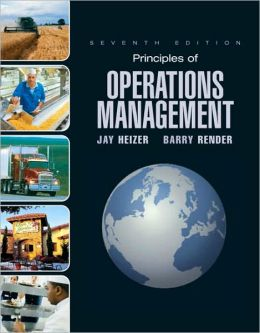 Principles of Operations Management + Student Cd + Student Dvd