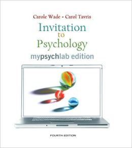 Invitation to Psychology, Mypsychlab Edition